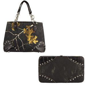 Realtree Camouflage Handbag & Wallet Combo VRT12 Meteorite