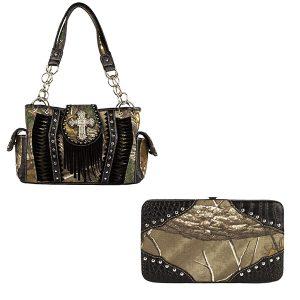 Realtree Camouflage Handbag & Wallet Combo VRT13 AP Camo